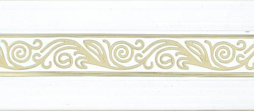 Бленда декоративная Одиссея 70мм Белое золото